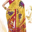 Sari Saree Faux Georgette Casual Printed With Unstitch Blouse - VF 4911a N
