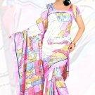 Sari Saree Jacquard Crepe Printed Designer Sarees With Blouse - X 2097b N