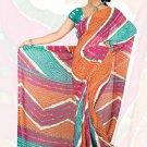 Sari Saree Premium Georgette Printed Designer Sarees With Blouse - X 2641a N