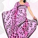 Sari Saree Jacquard Crepe Printed Designer Sarees With Blouse - X 2302b N