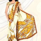 Sari Saree Jacquard Crepe Printed Designer Sarees With Blouse - X 2142a N