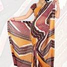Sari Saree Premium Georgette Printed Designer Sarees With Blouse - X 2652a N