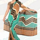 Sari Saree Premium Georgette Printed Designer Sarees With Blouse - X 2652b N