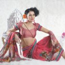 Faux Georgette Bridal Wedding Designer Embroidered Saree with Blouse - X 1526 N