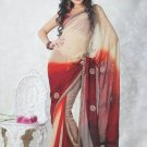 Faux Georgette Bridal Wedding Designer Embroidered Saree with Blouse - X 1506 N