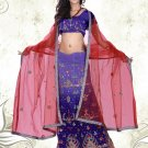 Partywear Faux Georgette Embroidery Lehenga Choli With Blouse - GW Malini N