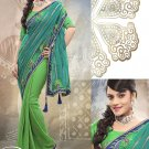 Georgette Wedding Designer Saris Sarees With Untitch Blouse - ANK - 2012 N
