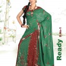 Partywear Viscose Exclusive Embroidery Lehenga Sari With Blouse - GW Ready N