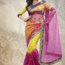 Net Sattin Wedding Designer Saris Sarees With Untitch Blouse - ANK - 2024 N