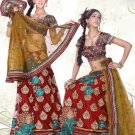 Partywear Faux Georgette Embroidery Lehenga Choli With Blouse - GW PC527 N