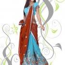 Partywear Faux Georgette Embroidery Lehenga Sari With Blouse - GW Urmila N