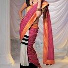 Sari Saree Casual Silk Printed With Unstitch Blouse - X 9019B N