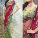 Chiffon Wedding Designer Saris Sarees With Untitch Blouse - ANK - 2017 N