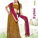 Partywear Faux Georgette Embroidery Lehenga Sari With Blouse - GW Sybini N