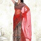 Partywear Net Exclusive Embroidery Lehenga Sari With Blouse - GW Prachi N