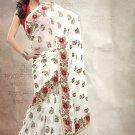 Chiffon Wedding Designer Saris Sarees With Untitch Blouse - ANK - 2021 N