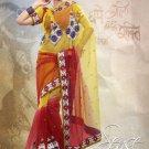 Net Wedding Designer Saris Sarees With Untitch Blouse - ANK - 2026 N