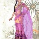 Partywear Faux Georgette Embroidery Lehenga Sari With Blouse - GW Rambha B N