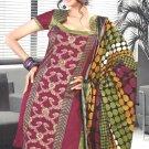 Shalwar & Salwar Kameez Dress Jacquard Satin Casual With Dupatta - X 06 N