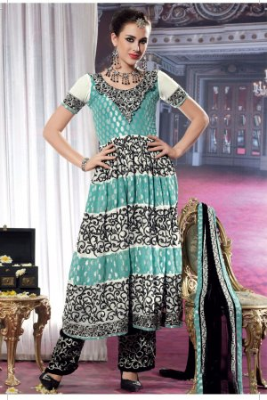 Dress banarsi Wedding Shalwar & Salwar Kameez  With Dupatta - X 639 N