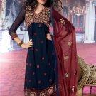 Dress Faux Georgette Wedding Shalwar & Salwar Kameez  With Dupatta - X 627 N