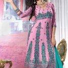 Dress Faux Georgette Wedding Shalwar & Salwar Kameez  With Dupatta - X 617 N