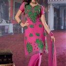 Dress Faux Georgette Wedding Shalwar & Salwar Kameez  With Dupatta - X 611 N