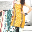 Shalwar & Salwar Kameez Dress Jacquard Satin Casual With Dupatta - X 05 N