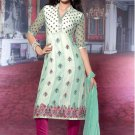 Dress Faux Georgette Wedding Shalwar & Salwar Kameez  With Dupatta - X 605 N