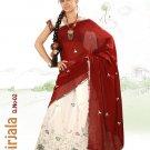 Partywear Faux Georgette Embroidery Lehenga Sari With Blouse - GW Nirjala N
