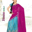Partywear Faux Georgette Embroidery Lehenga Sari With Blouse - GW Heena A N