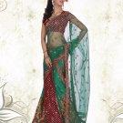 Partywear Viscose Exclusive Embroidery Lehenga Sari With Blouse- GW Lalita N