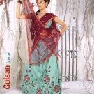 Partywear Silk Exclusive Embroidery Lehenga Sari With Blouse - GW Gulshan N