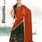 Partywear Faux Georgette Embroidery Lehenga Sari With Blouse - GW Bhumika A N