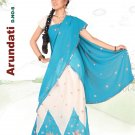 Partywear Faux Georgette Embroidery Lehenga Sari With Blouse - GW Arundhati A N