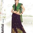 Partywear Tissue Georgette Embroidery Lehenga Sari With Blouse - GW Mumtaz B N
