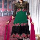 Dress Faux Georgette Wedding Shalwar & Salwar Kameez  With Dupatta - X 633 N