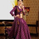 Faux Crepe Casual Designer Embroidered  Sarees Sari With Blouse - X 136A N