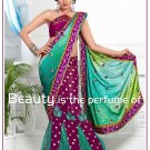 Wedding Faux Georgette Designer Embroidery Lehenga saree - TS 27005 N