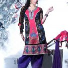 Fancy Cotton Designer Embroidery Shalwar & Salwar Kameez With Dupatta - X 1504 N