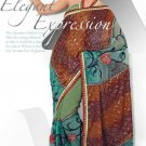 Wedding Net Georgette Designer Embroidery Sarees Sari With Blouse - TS 26020 N