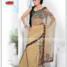 Wedding Net Designer Embroidery Sari Saree With Blouse - TS 27012 N
