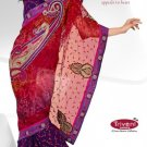 Wedding Net Georgette Designer Embroidery Sarees Sari With Blouse - TS 26010 N
