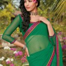 Sari Saree Casual Faux Georgette Printed With Unstitch Blouse - X 9005A N