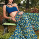 Sari Saree Casual Faux Georgette Printed With Unstitch Blouse - X 9017A N