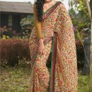 Sari Saree Casual Faux Georgette Printed With Unstitch Blouse - X 9004B N