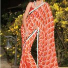 Sari Saree Casual Faux Georgette Printed With Unstitch Blouse - X 9002A N