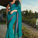 Sari Saree Casual Faux Georgette Printed With Unstitch Blouse - X 9014B N