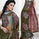 Bollywood Designer Embroidered Partywear Bridal Wedding Sarees Sari - TS 14012B