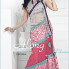 Net Brasso Georgette Wedding Embroidered Sarees Sari With Blouse - TS 21001A
